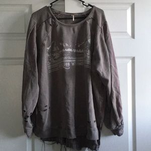 Free People Sweatershirt